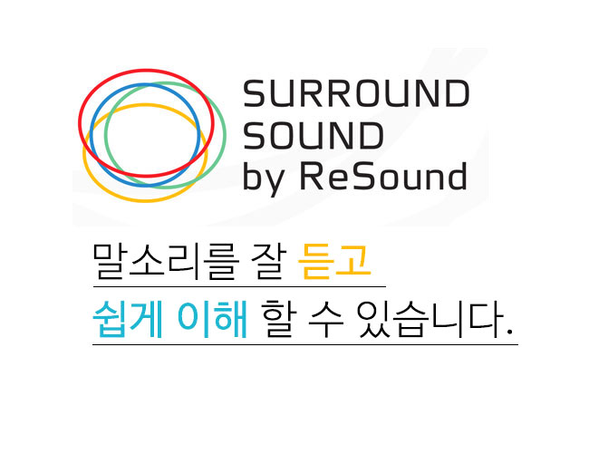 surround sound by Resound (이미지)